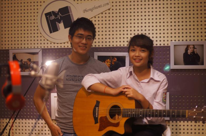 Phòng thu âm Hà Nội - M-Talk Studio
