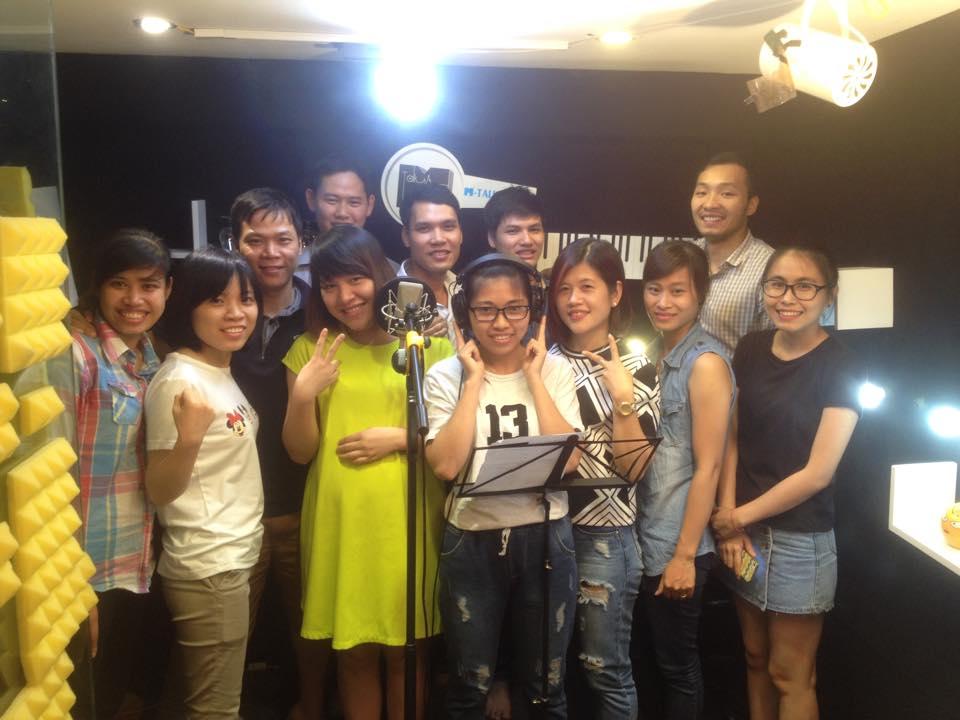 Thu âm Hà Nội - Phòng thu âm chuyên nghiệp nhất tại Hà Nội